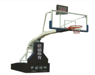 电动液压篮球架CX12-002